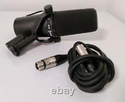Shure Sm7b Vocal Professional Studio Microphone Dynamique MIC Cardioid Enregistrement