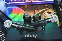 Shure Ulxd4d L50 Microphone Numérique Sans Fil À Double Canal Combo System
