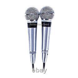Shure Unisphère 1 Modèle 565 Stéréo Paire Rare Vintage Microphone Dynamic MIC