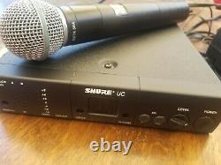 Système De Microphone Sans Fil Uc4 Ua Beta58