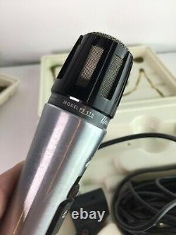 Unidyne B Dynamic 2 Shure Brothers Pe 515 Vintage 1970s Audio Band Microphones