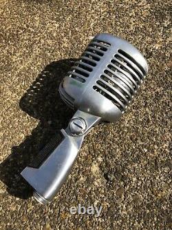 Vintage 1950's Shure 55 Sw Microphone Dynamique Elvis