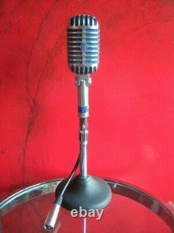 Vintage 1954 Shure 55 S Dynamique Micro Cardioïde Vieux Elvis W Accessoires # 2
