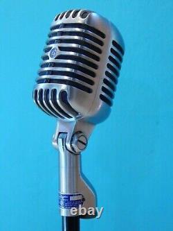 Vintage 1955 Shure 55s Microphone Dynamique Et Accessoires De Travail Elvis Chicago