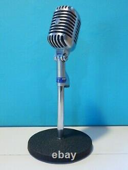 Vintage 1956 Shure 55s Microphone Dynamique Et Accessoires De Travail Elvis Antique