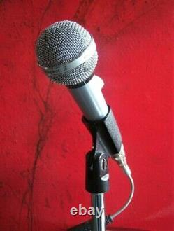 Vintage 1960 Rare Shure 585sav Microphone Dynamique High Z Vieux W Accessoires # 1