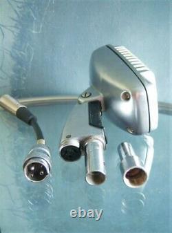 Vintage 1960 Shure 51 Microphone Dynamique Multi Z W Câble Nat King Cole # 6 51s