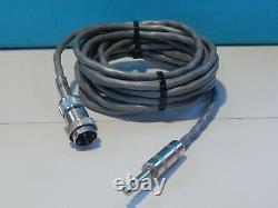 Vintage 1960s Electro Voice 674 Microphone Dynamique Et Câble De Travail Shure USA
