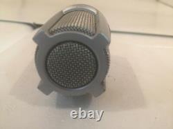Vintage 1970 Shure Pe589 Dynamic Cardioid Microphone High Z W Câble & Clip