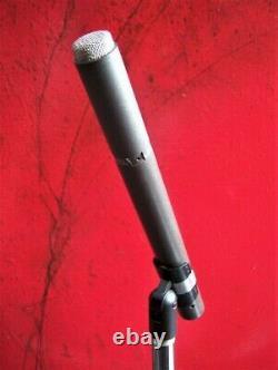 Vintage 1970 Shure Sm-76 Microphone Dynamique Vieux Dual Z W Accessoires 578 # 1