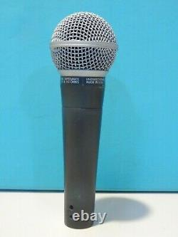Vintage 1970s Shure Sm58 Dynamic Microphone And Accessories USA Version Working
