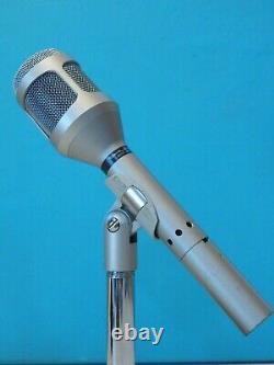 Vintage 1980s Shure Sm54 Microphone Dynamique Et Accessoires 150 Ohms Working USA