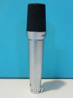 Vintage Altec D80c Dynamic Microphone And Accessories Akg 230 Ohms Shure Working