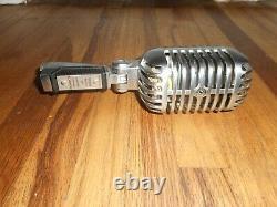 Vintage Années 1950 Shure 55s Unidyne Dynamic Microphone Elvis Style Préféré