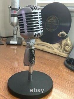 Vintage Des Années 1970 Shure 55 (pe) Dynamic Microphone- Bonne Forme Et Grand Son