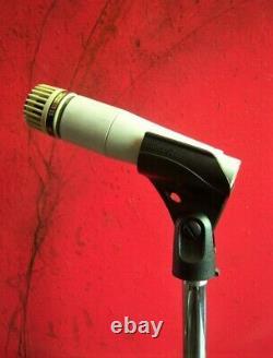 Vintage Rare 1970 Shure Sm77 Starmaker Microphone Cardioïde Dynamique Sm57