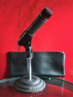 Vintage Rare 1980 Shure Brothers Pe65l Microphone Cardioïde Dynamique 545sd Sm57