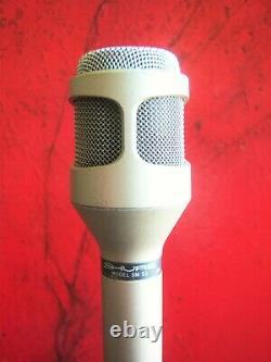 Vintage Rare 1980 Shure Sm-53 Cardioid Dynamic Microphone USA W Accessoires 1