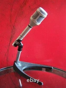Vintage Rare 1980 Shure Sm-54 Cardioid Microphone Dynamique USA W Accessoires