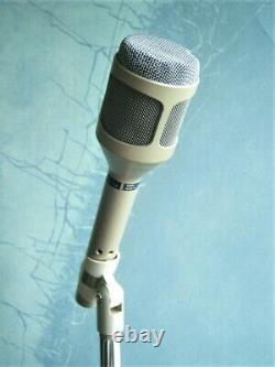 Vintage Rare 1980 Shure Sm-54 Cardioid Microphone Dynamique USA W Accessoires #3