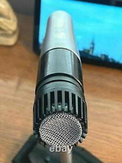 Vintage Shure 545s Série II Microphone Dynamique Fonctionne 100% Comprend Le Câble