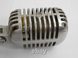Vintage Shure Bros Modèle 55s Microphone Dynamique Unidyne