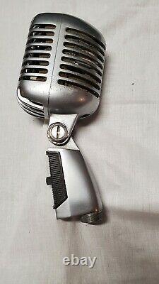 Vintage Shure Modèle 55sw Unidyne Dynamic Microphone