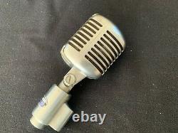 Vintage Shure Unidyne Modèle Dynamique 556s Microphone Elvis